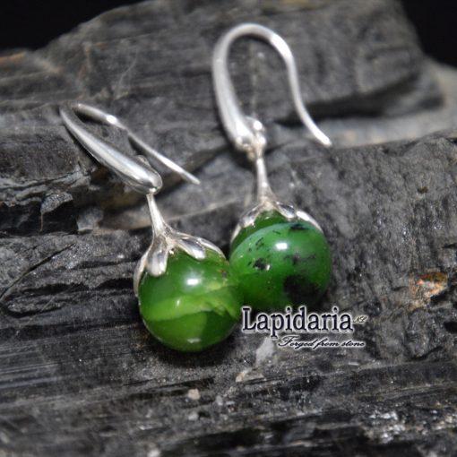 product Groene opaal oorbellen
